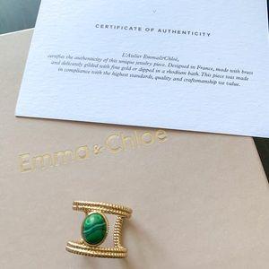 Emma & Chloe gold ring
